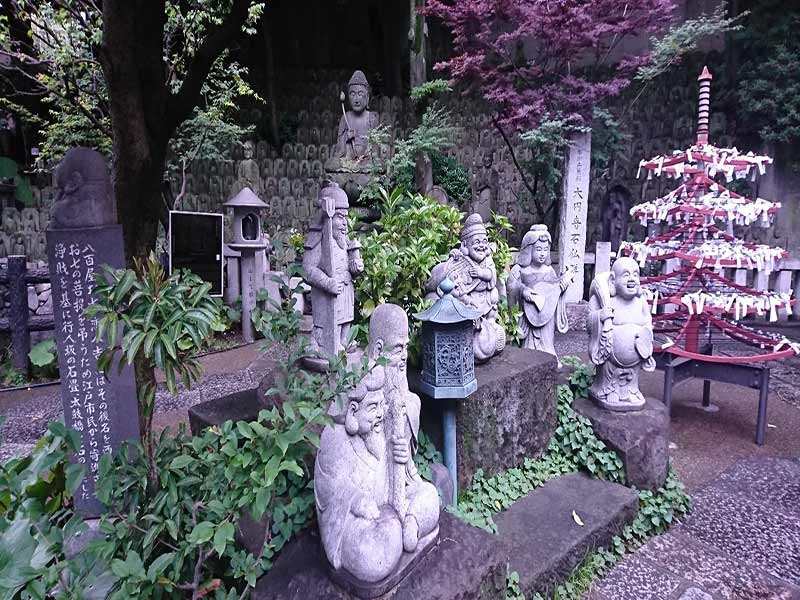 松林山 大圓寺(大円寺|通称:大黒寺) 庭園の七福神