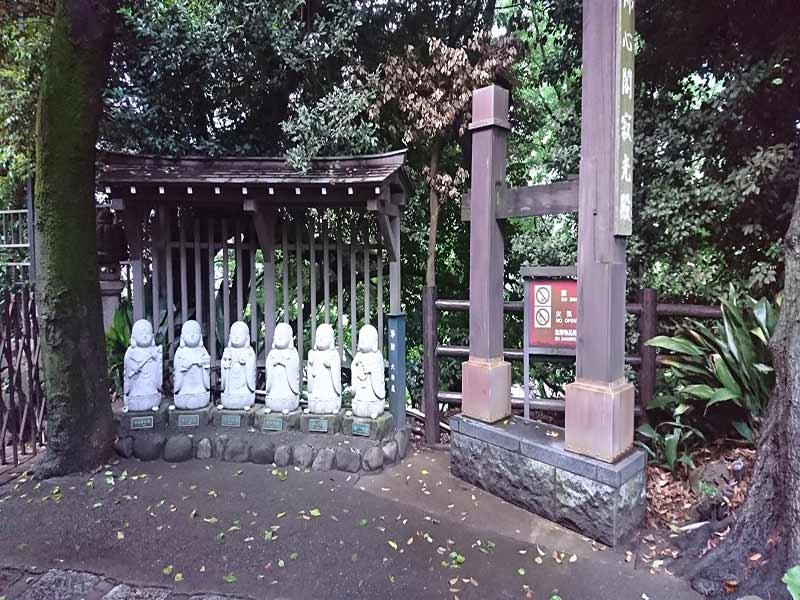 松林山 大圓寺(大円寺|通称:大黒寺) 庭のお地蔵様