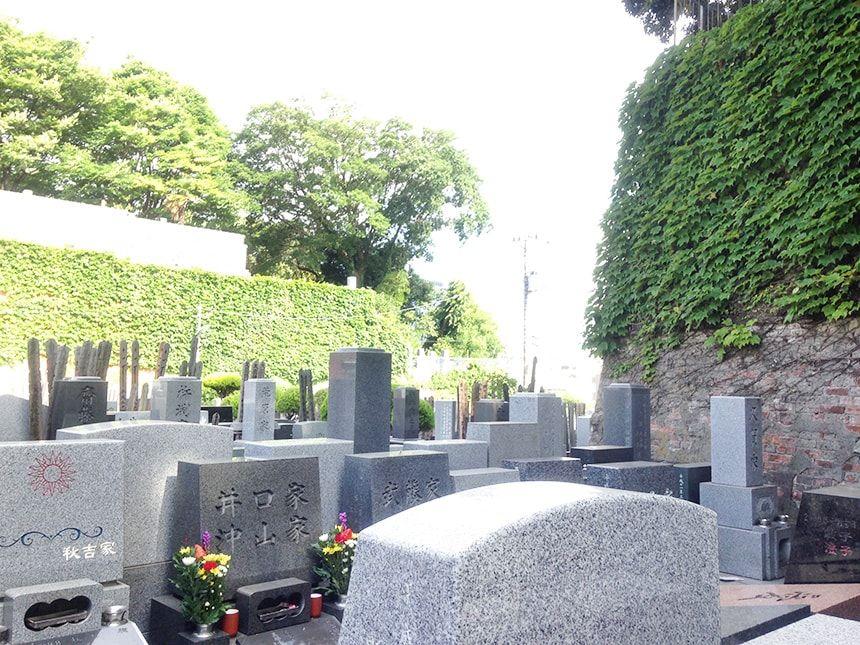 れんげ山霊園10