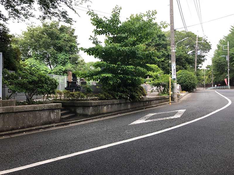 大田妙樹苑 樹木葬墓地 公道からのアクセス良好