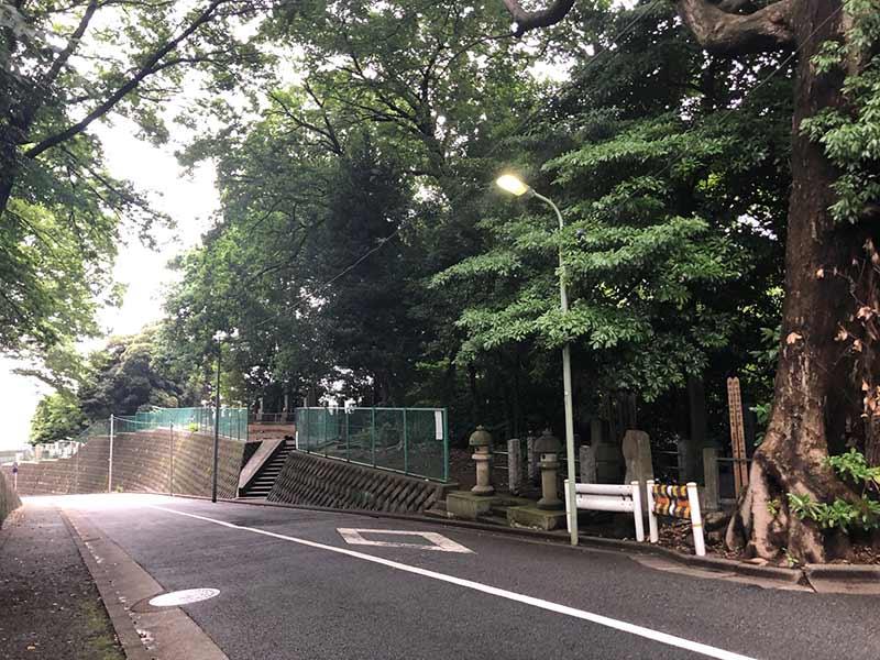 大田妙樹苑 樹木葬墓地 緑に囲まれた敷地