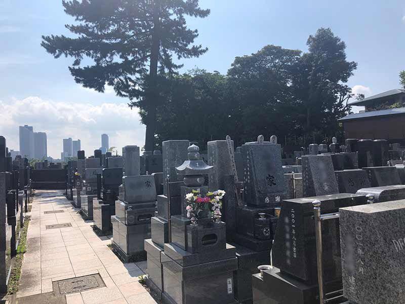西嶺浄苑 さくら観音 日当たりの良い墓域