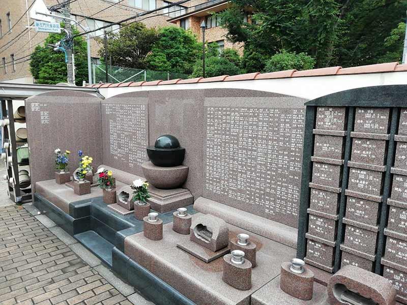 四谷たちばな墓苑「たちばなの碑」(永代供養墓)