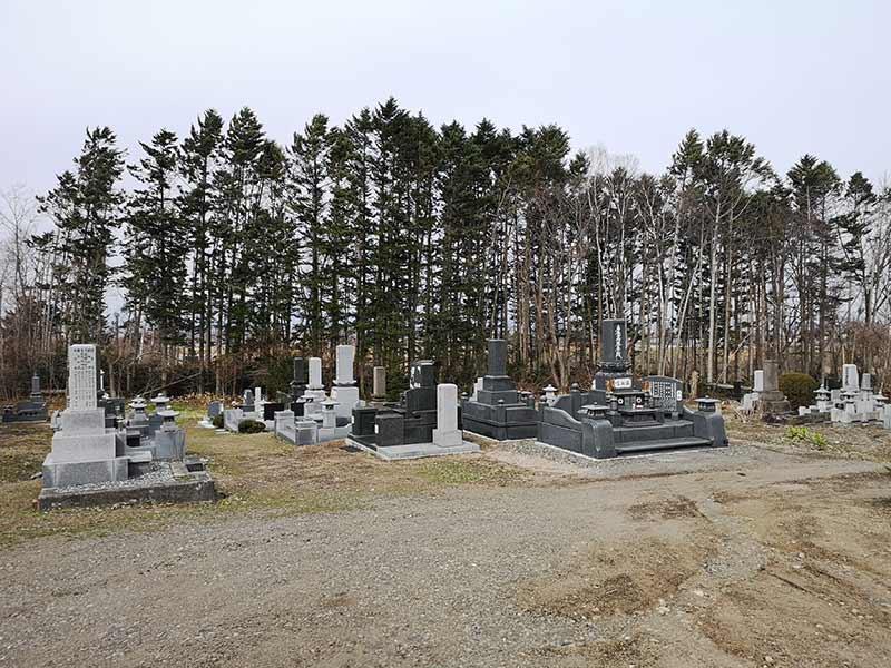 千歳市営 泉郷共同墓地