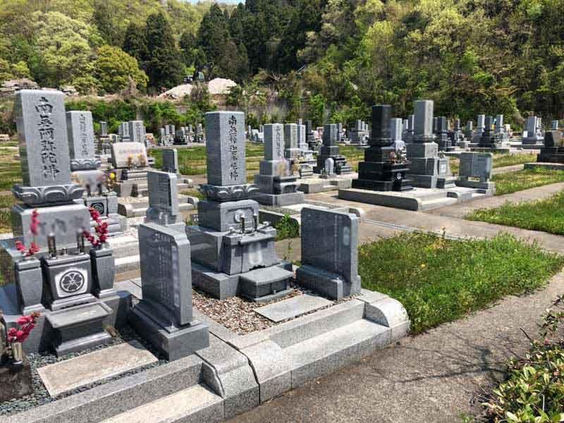 鉾ヶ崎墓地公園 しらゆりの杜