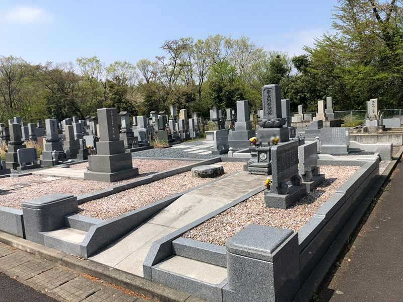 福井市営 兎越山墓地公園