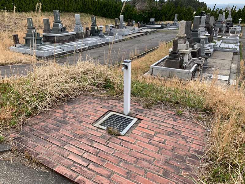 七尾市営 墓地公園