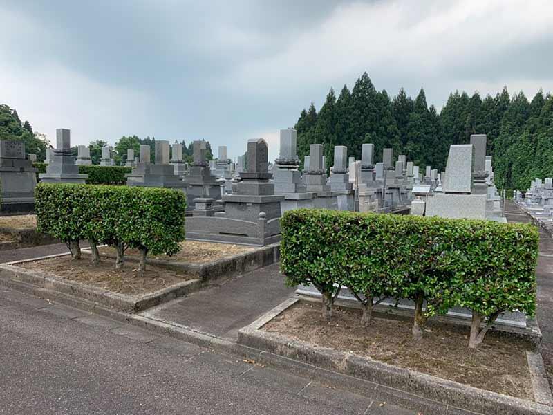上市町営 墓地公園