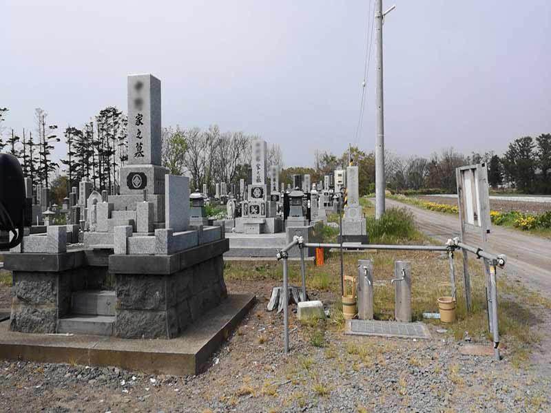 伊達市稀府墓地
