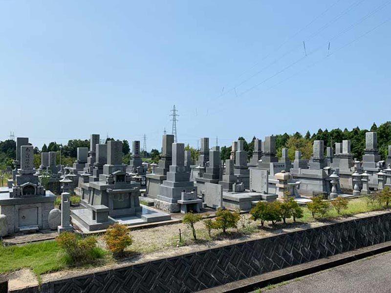 滑川市営 墓地公園