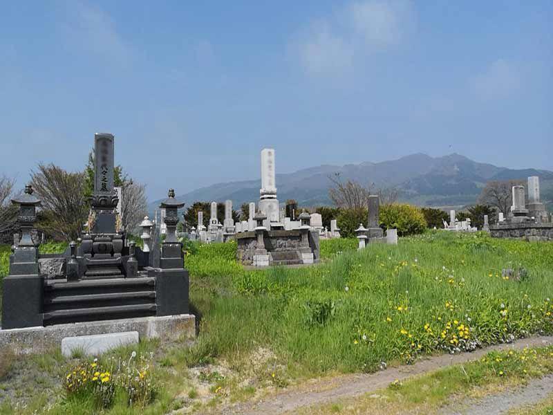 伊達市弄月墓地