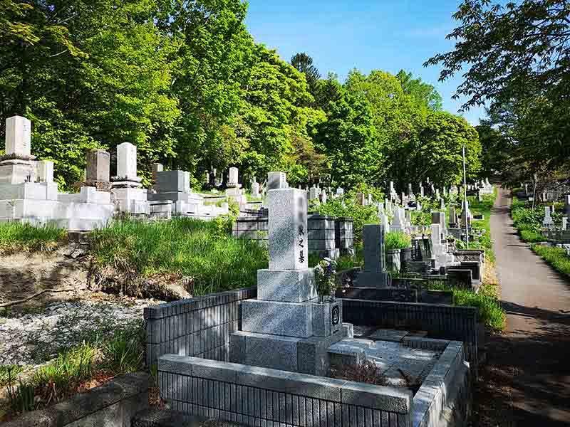 小樽市営 奥沢墓地
