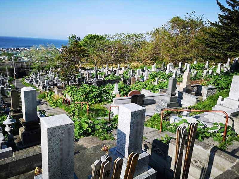 小樽市営 銭函墓地