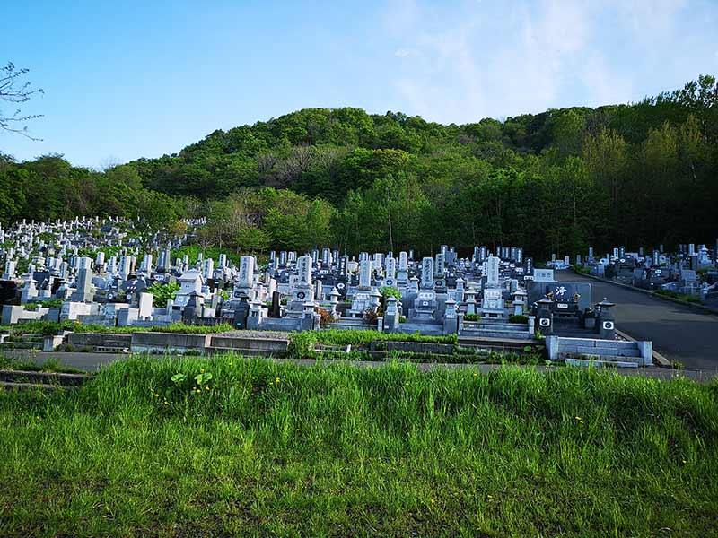 小樽市営 銭函第2墓地