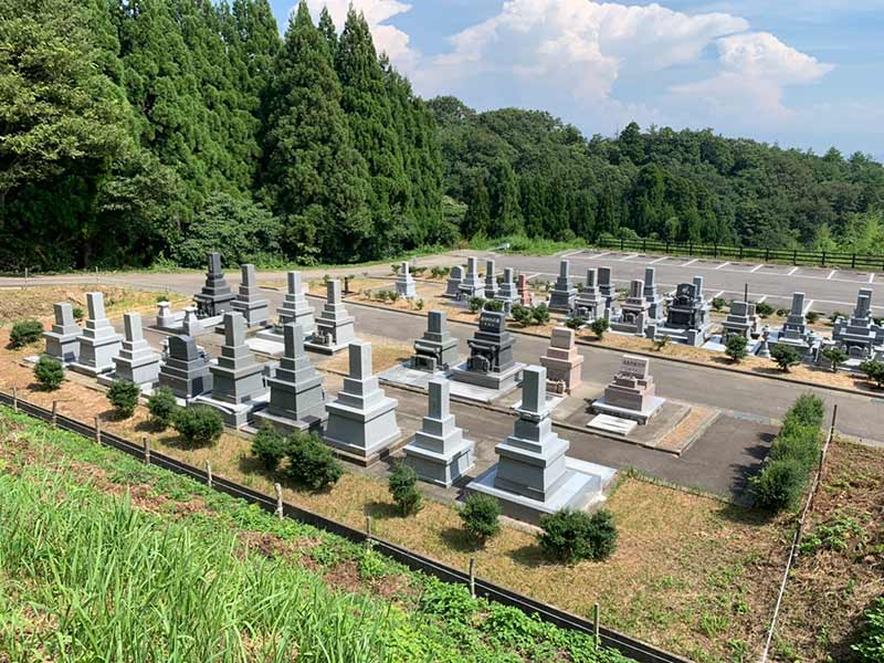 氷見市営 東原墓地公園