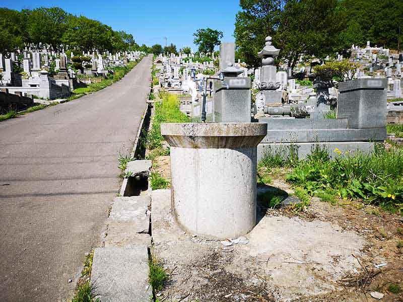 小樽市営 高島墓地