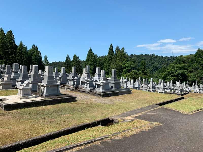 富山市営 大山墓地公園