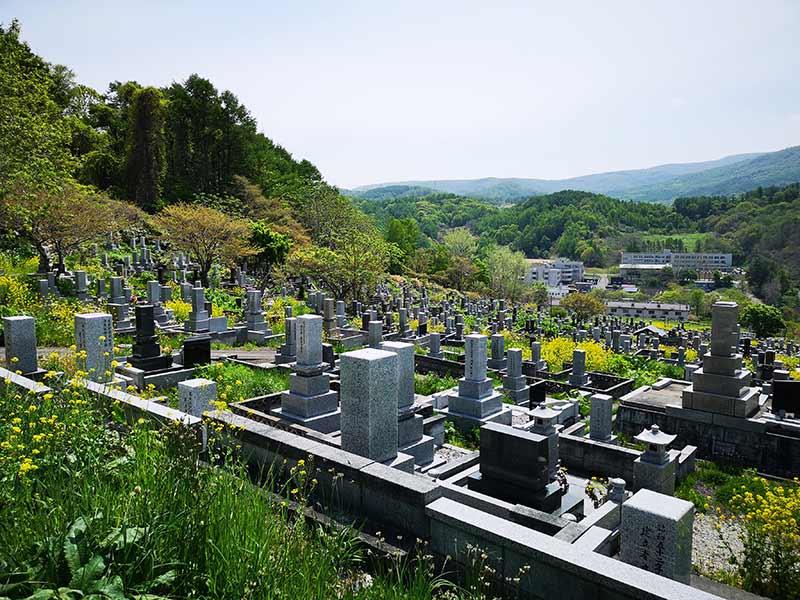 小樽市営 塩谷墓地