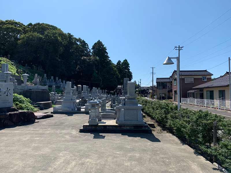 朝日町営 宮崎墓地