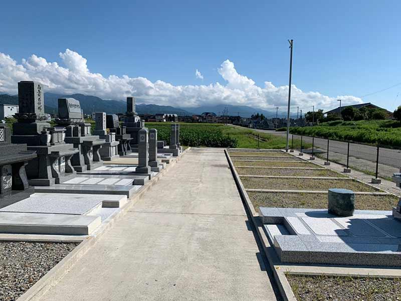 朝日町営 浜草野墓地