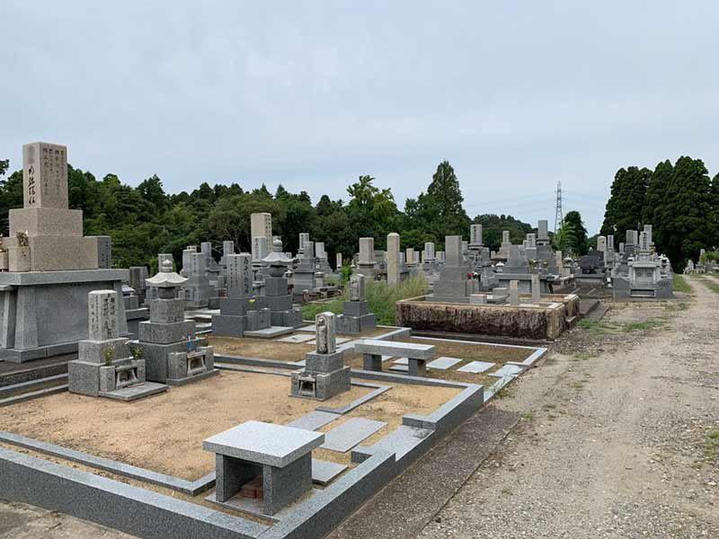 富山市営 北代墓地