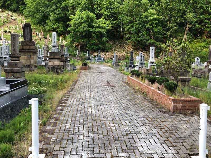 北見市立留辺蘂墓地