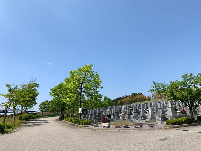 金沢市営 内川墓地公園