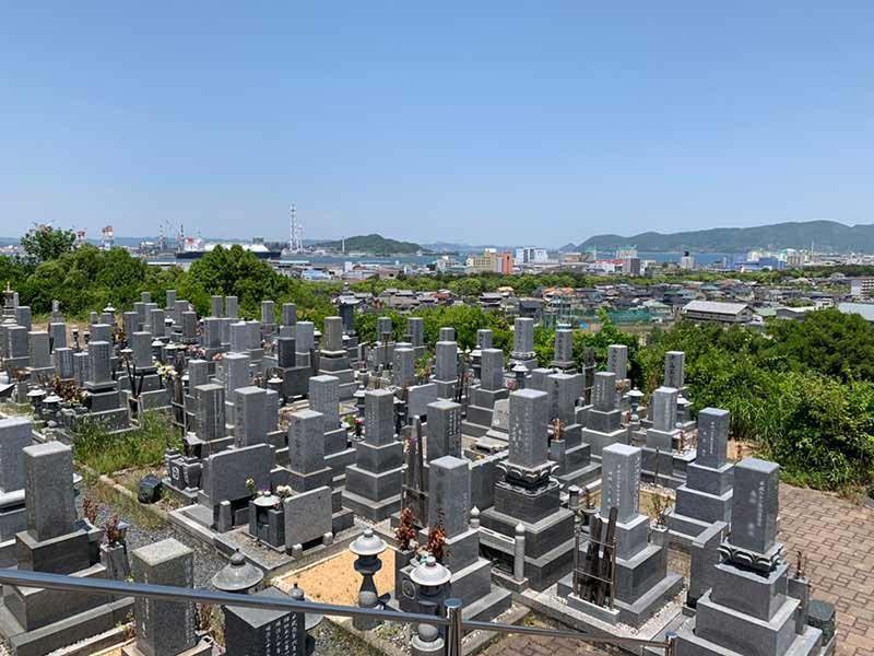 坂出市営 新田尾墓地