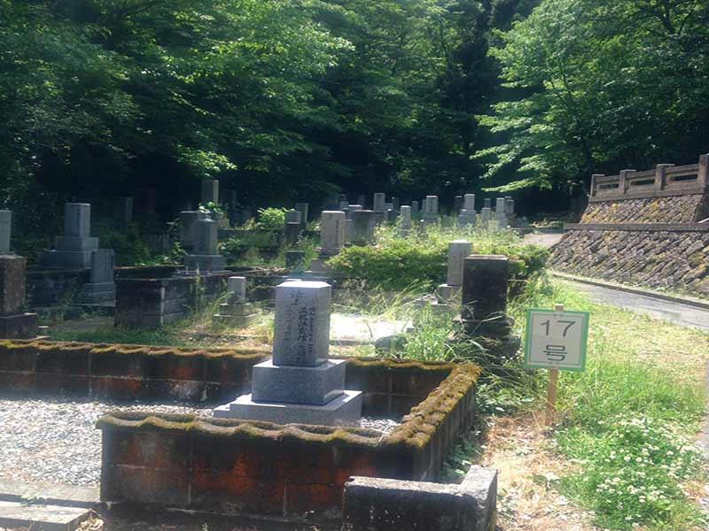 加賀市営 山中上野墓苑