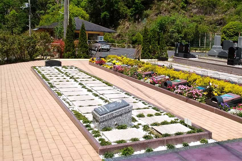 阪南小川渓メモリーズパーク「凜硝墓」彩の区