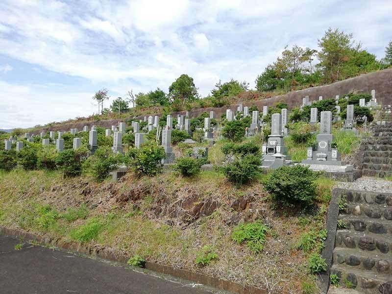 金沢霊園の霊園風景