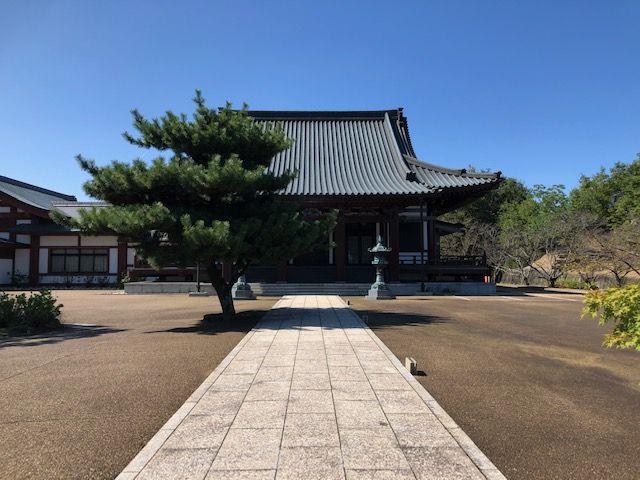 五色園墓地の本堂(五色山大安寺)