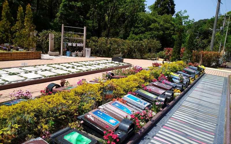 阪南小川渓メモリーズパーク 家族用樹木葬「花陽葬」