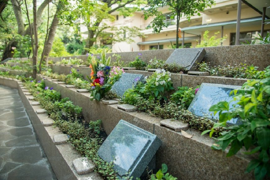 高輪墓苑のまだ空きがある洋型墓石区画