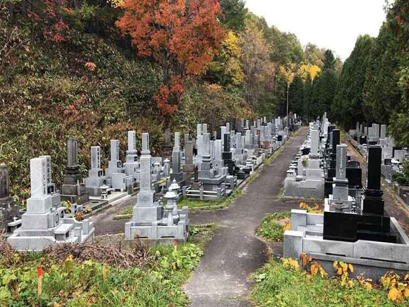 夕張市営 末広墓地