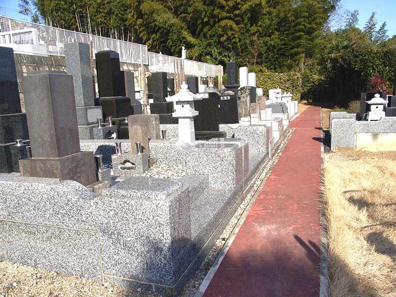 妙安寺 日当たりがよい墓域