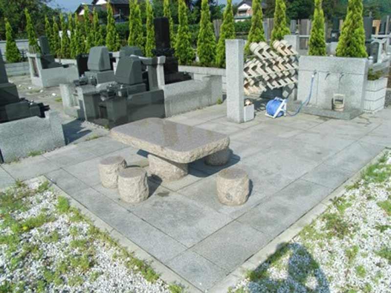 羽生東霊園 休憩スペース