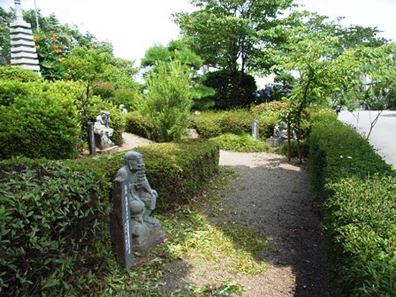 高雲寺 手入れされた植栽