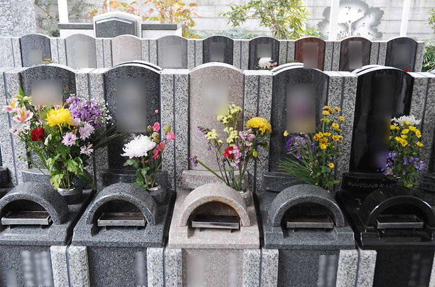 川口元郷聖地の個別墓石使用 永代供養墓「caro(カーロ)」