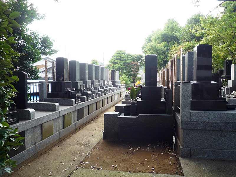 浄泉寺 和型墓石