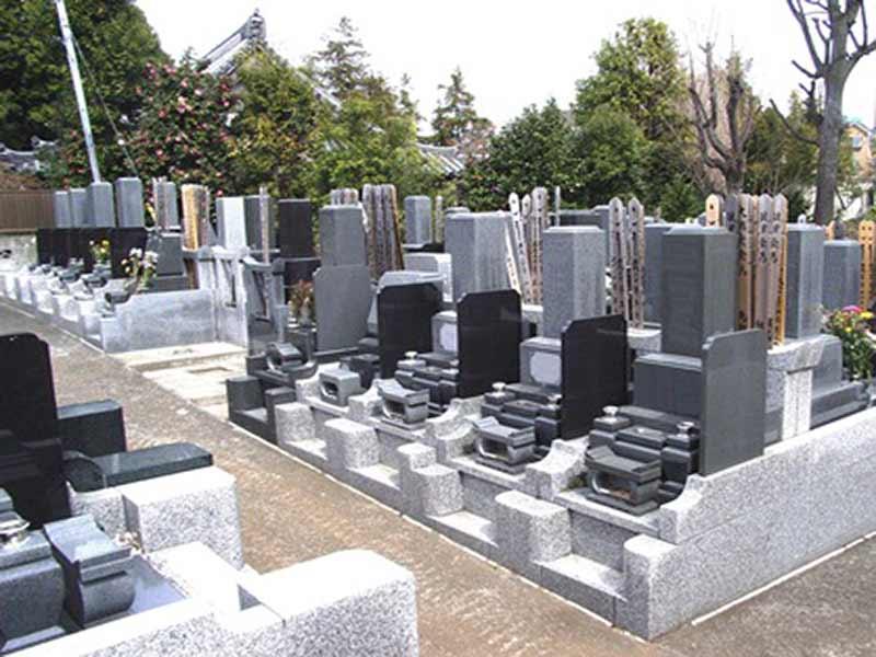 長澤山 秋月院 和型墓石