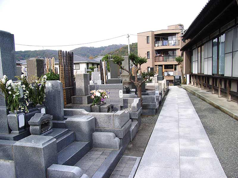 妙昌寺 和型墓石