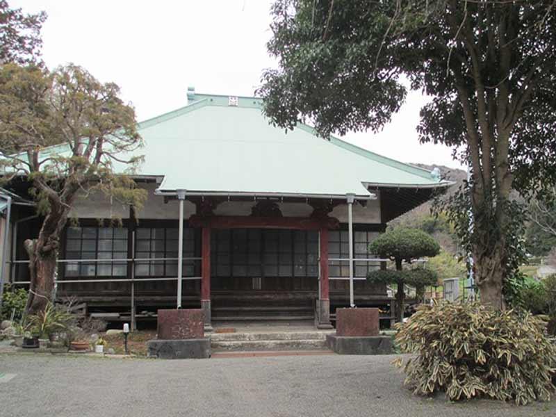 法道寺墓苑 寺院入口