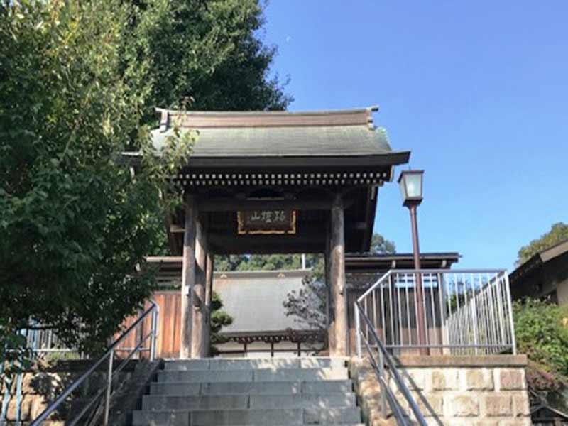 東勝寺 趣がある山門