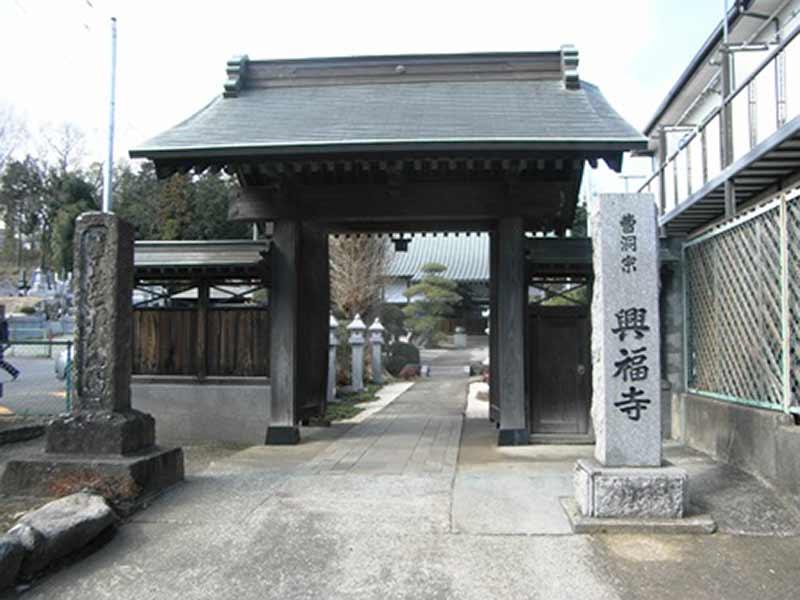 興福寺 厳かな雰囲気の入口