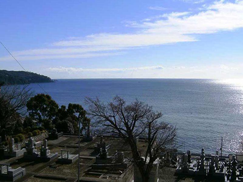 宗徳院 見晴らしがよい墓地