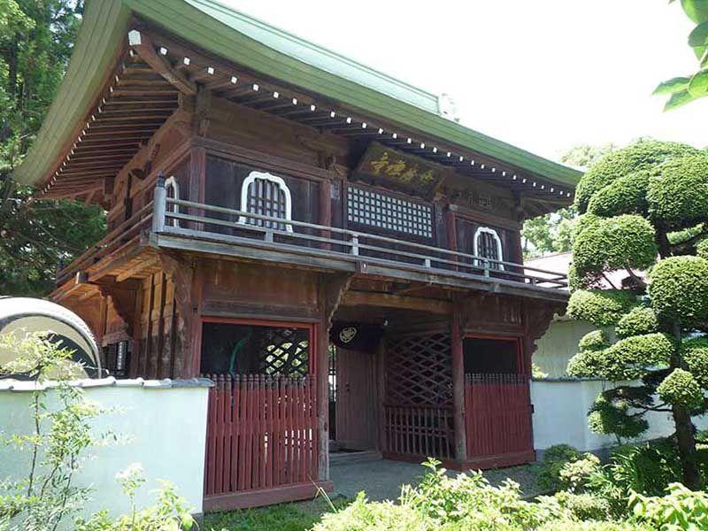修廣寺 緑に囲まれた山門