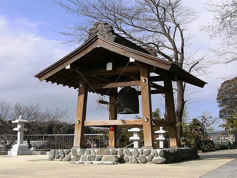 長源寺 園内にある鐘