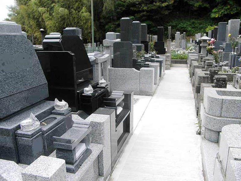 妙光寺 整備された墓域