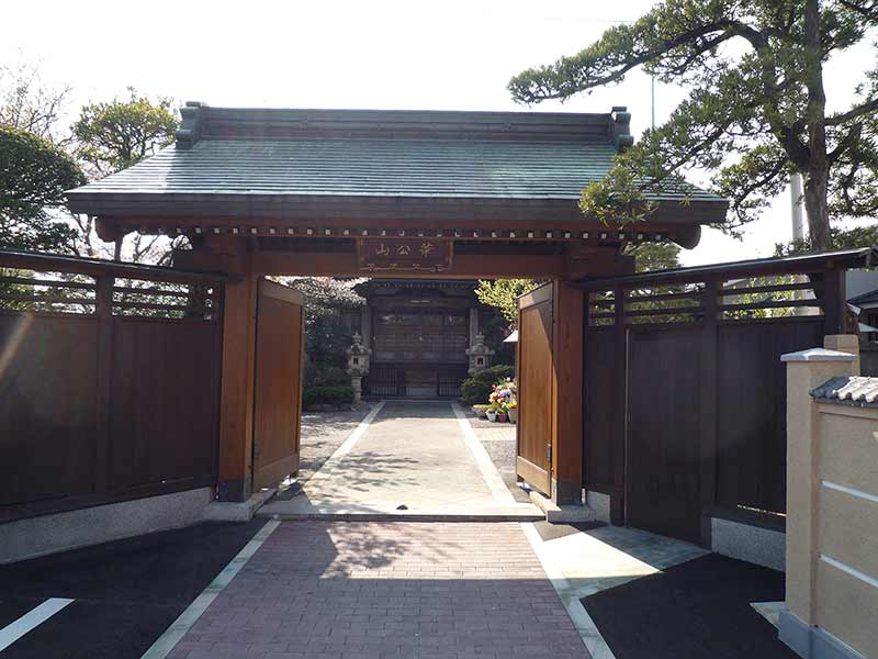 圓宗寺 重厚感がある山門